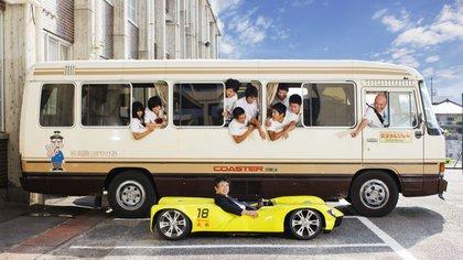 Los automóviles insólitos: el Mirai es el auto más bajo de la historia jamás construido