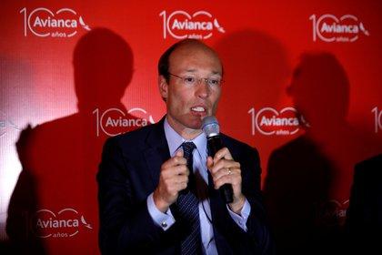 Anko van der Werff, presidente de Avianca Holdings (REUTERS/Jose Cabezas)