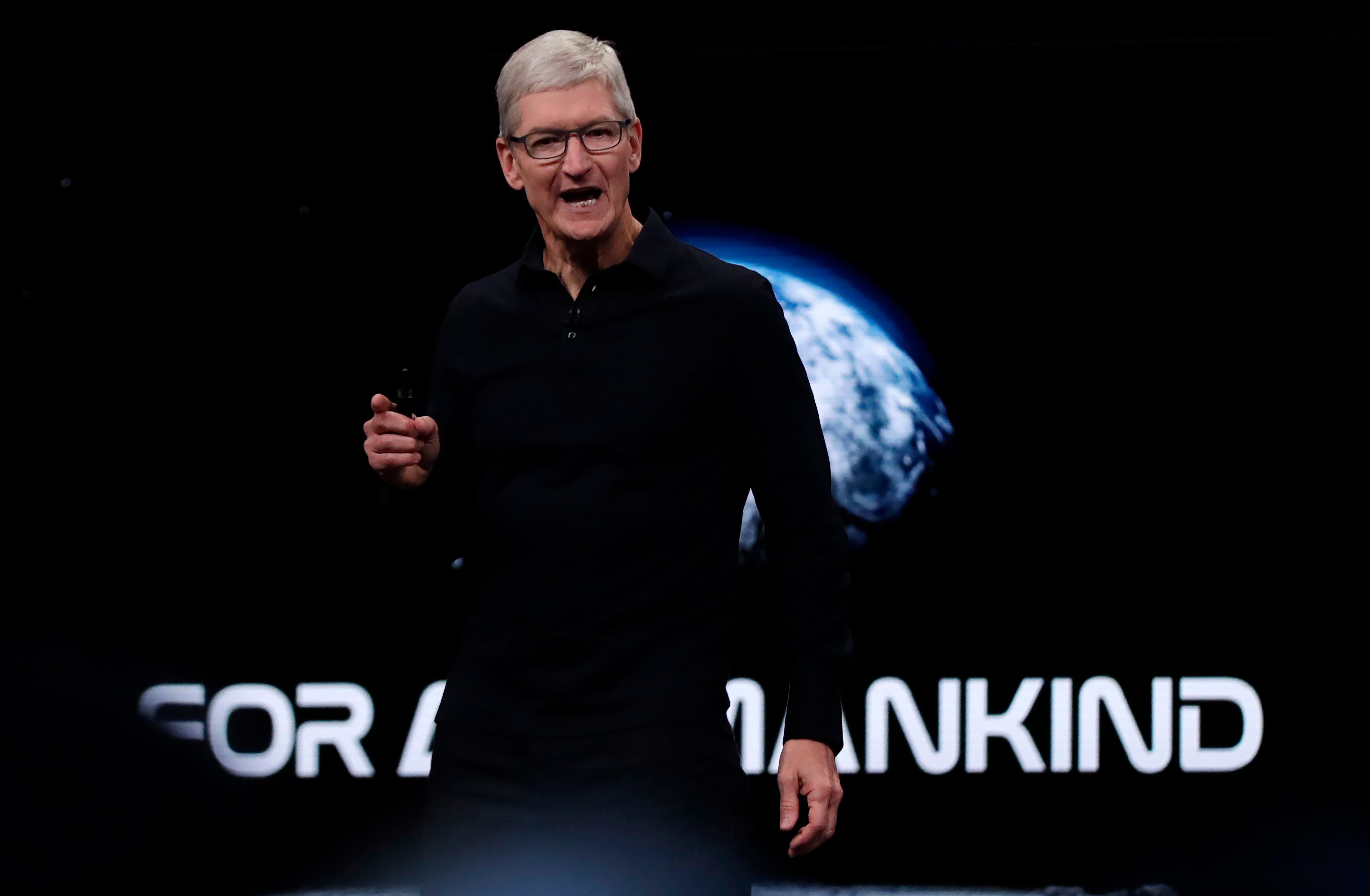 Tim Cook, CEO de Apple (EFE/ Monica Davey /Archivo)