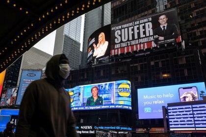 Pandemia de COVID-19 en Nueva York. REUTERS/Jeenah Moon