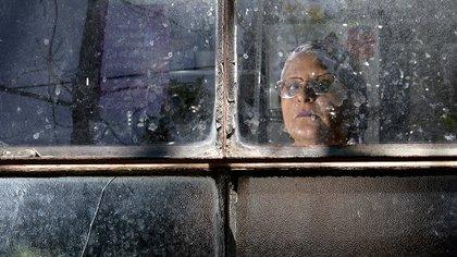 """""""La vida de explotación de las prostitutas nos deteriora y nos deja secuelas hasta el final de nuestros días"""", dice Delia Escudilla a Infobae (Gustavo Gavotti)"""