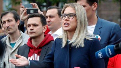 Liubov Sobol fue detenida el jueves (AP/Archivo)