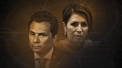 Rosario Robles y Emilio Lozoya, dos funcionarios acusados de malversación de recursos en las últimas elecciones federales (Fotografía artística: Giovanni Pérez Silva)