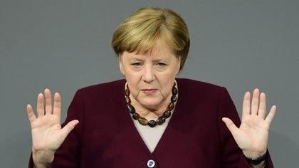 Angela Merkel. EFE/EPA/CLEMENS BILAN/Archivo