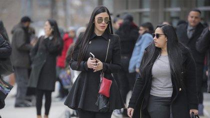 Emma Coronel et Mariel Colon à New York (Photo: Reuters)