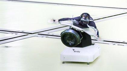 El simulador de vuelo genera una experiencia inmersiva.