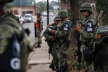 Guardia Nacional de México  (Foto: Twitter)