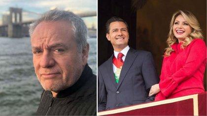 José Alberto Castro habló sobre el periodo de su ex esposa como primera dama de México (Foto: Instagram elguermoex, epn)