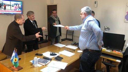 La reunión entre las autoridades de CEDIBBA y Marcelo Montero, el funcionario bonaerense que los recibió en La Plata