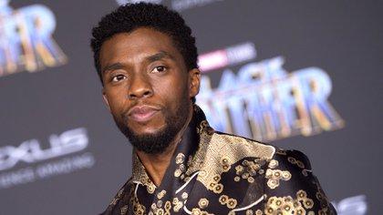 Chadwick Boseman (VALERIE MACON / AFP)