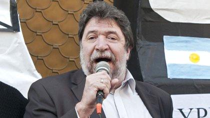 El ex diputado nacional y hoy director del Banco Nación, Claudio Lozano (Foto NA: DAMIAN DOPACIO)