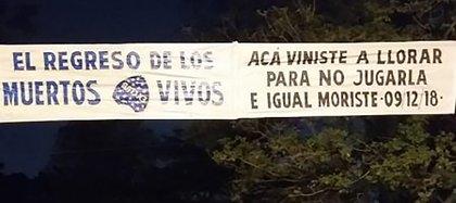 En la previa al partido con Libertad, Boca fue recibido en Paraguay con unos reprochables pasacalles