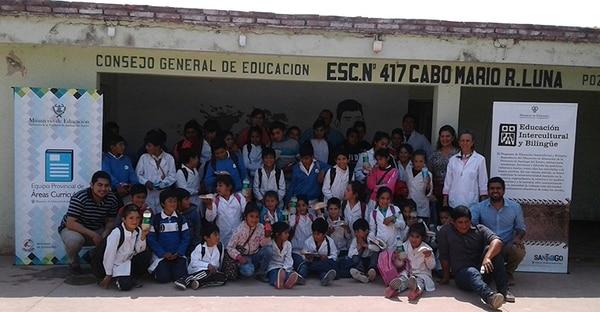La escuela en Santiago del Estero que lleva el nombre del Cabo Luna