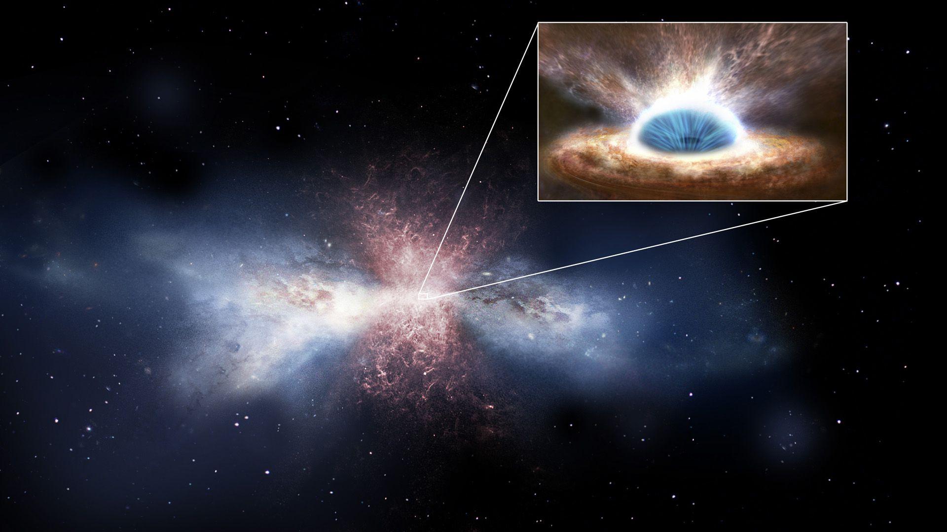 Como la luz no puede escapar de la gravedad de los agujeros negros, estos no son visibles a simple vista Foto: Archivo