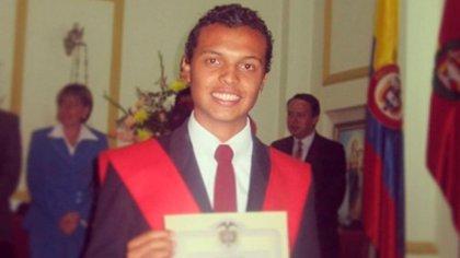 Luis Andrés Colmenares era estudiante de la universidad de los Andes en Colombia, una de las más prestigiosas del país.