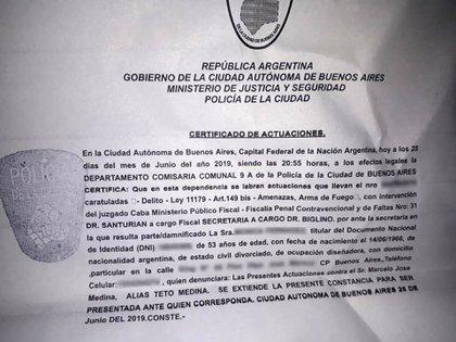 La denuncia de Mónica Fernández contra Marcelo Medina