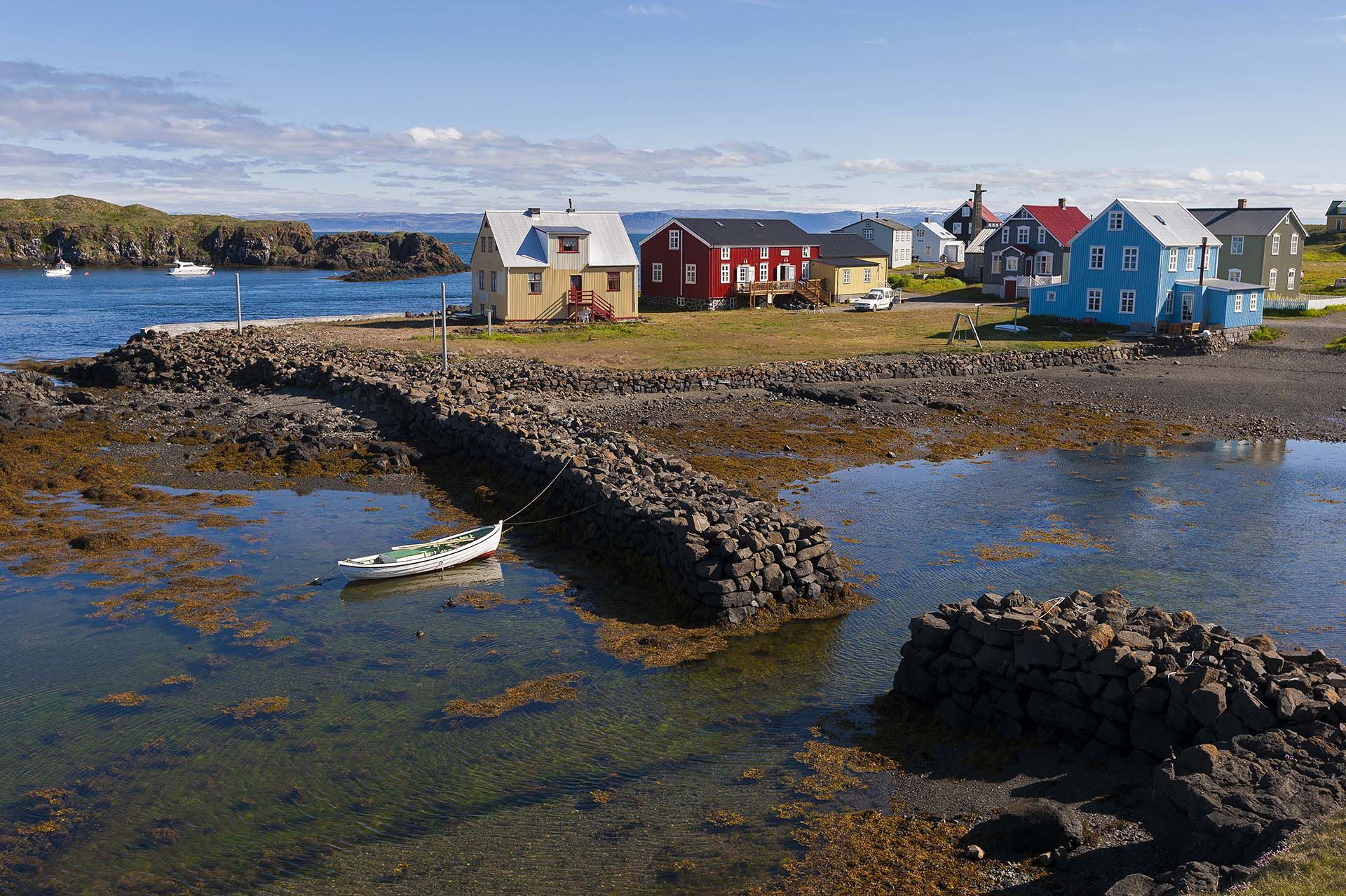 Mandatory Credit: Photo by Patrick Frilet/Shutterstock (3404257gh) Flatey island, Breidafjordur, Iceland Iceland - Jun 2012