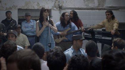 Natalia Oreiro interpretó a Gilda, en la película sobre la vida de la cantante