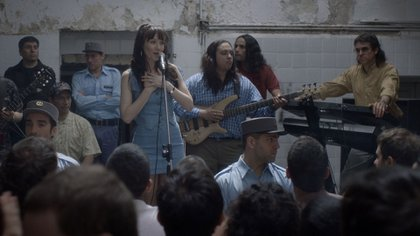 Natalia Oreiro, como Gilda