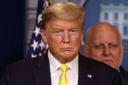 El presidente de Estados Unidos, Donald Trump, en la Casa Blanca, Washington, EEUU, 9 marzo 2020. REUTERS/Jonathan Ernst
