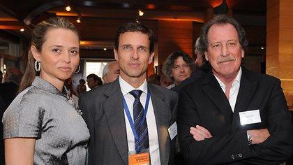 Jorge Brito y Ricardo Marino, socio y chairman del Consejo Consultivo de Itaú Unibanco