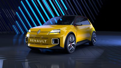 HANDOUT - El nuevo Renault 5 Prototype, un vehículo conceptual totalmente eléctrico basado en el clásico diseño del emblemático R5. (Renault/dpa)