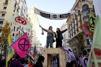 Marcha de activistas ecológicos en Madrid (REUTERS/Juan Medina)