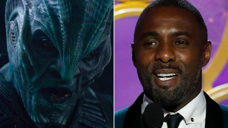 Idris Elba luce irreconocible