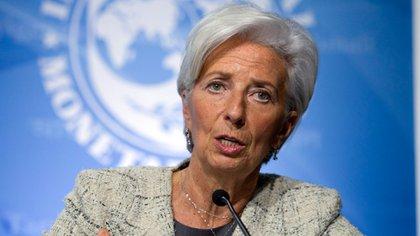 Christine Lagarde, directora del FMI, se reunirá con el ministro Nicolás Dujovne en Davos. (AP)