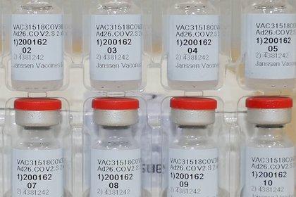 La vacuna Johnson & Johnson.  Johnson & Johnson/Handout via REUTERS