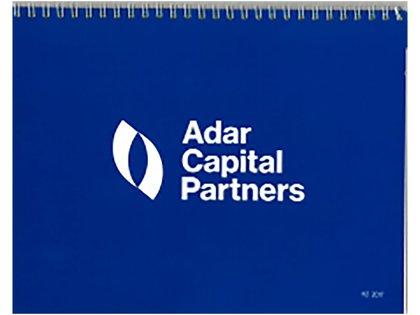 El folleto de Adar Capital donde cuenta su historia oficial sobre la experiencia en Venezuela, después del