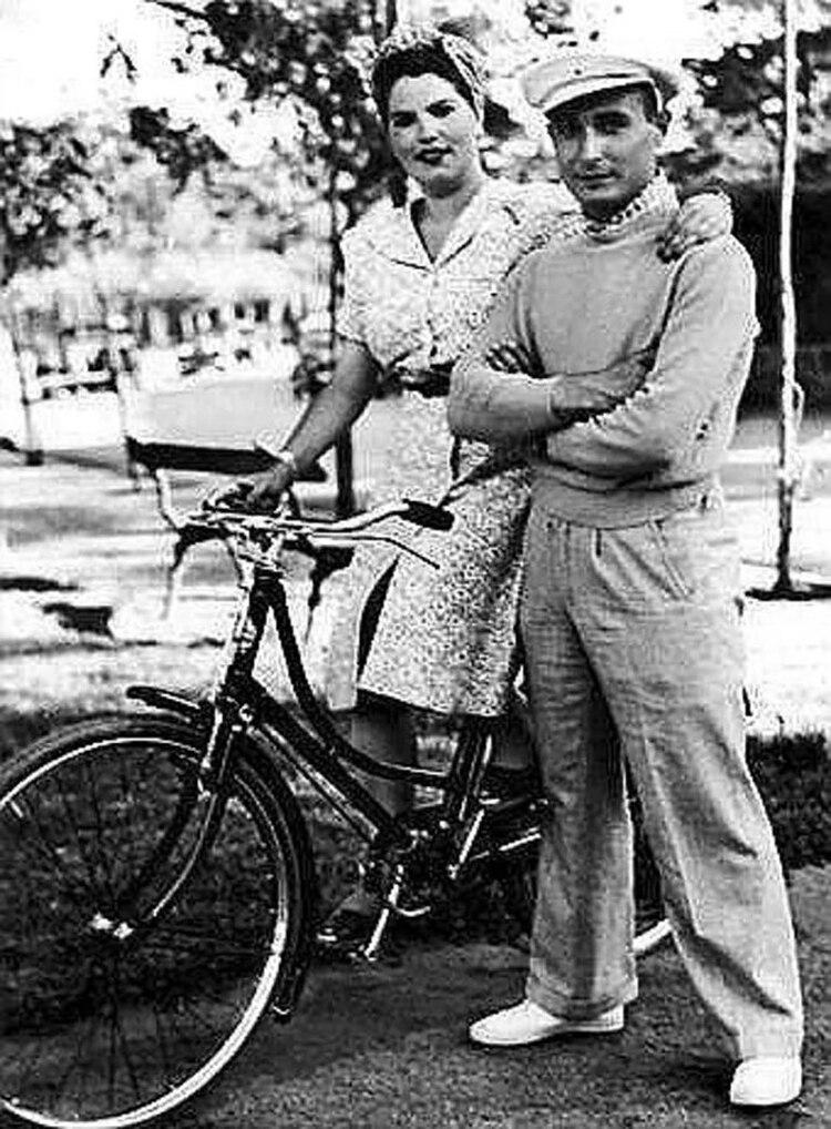 Jordi y su esposa Araceli en España.