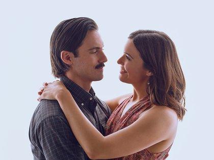 Milo Ventimiglia y Mandy Moore, una de las parejas protagónicas de This is Us