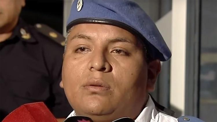El policía Luis Chocobar