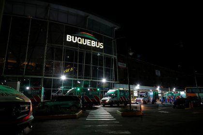 Operativo especial anoche en Buquebus por un pasajero con coronavirus