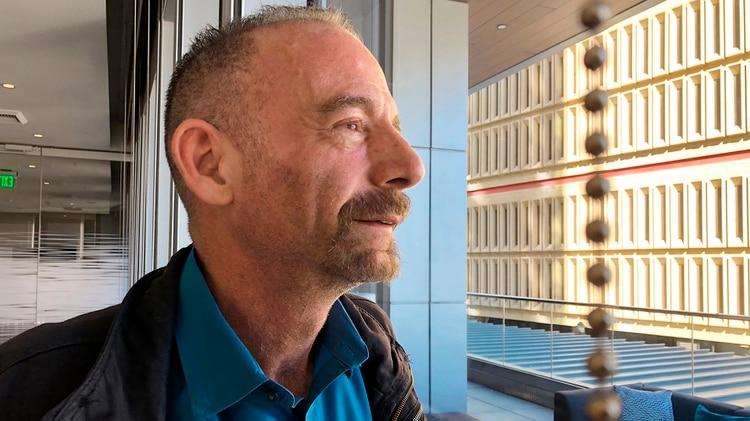"""Timothy Ray Brown, conocido como """"el paciente de Berlín"""", el primer portador de VIH en lograr eliminarlo de su cuerpo (AP/Manuel Valdes)"""