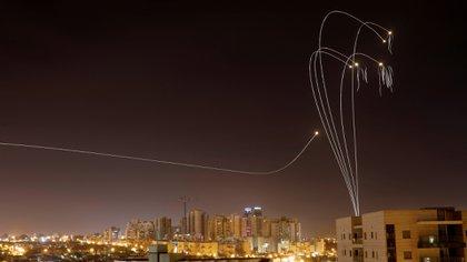 El Iron Dome, escudo antimisiles de israel. (Reuters)