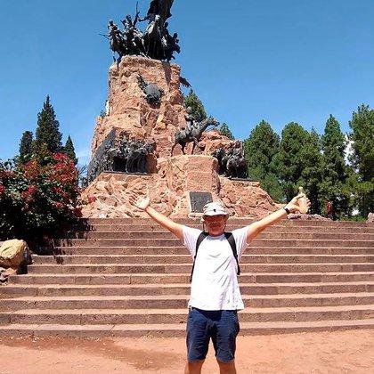 En sus vacaciones a Mendoza, cuando todavía no sabía que tenía la enfemedad