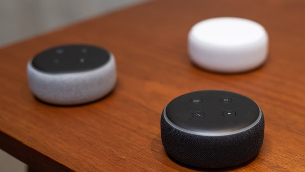 Amazon Alexa. (AFP)