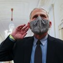 NIH National Institute of Allergy and Infectious Diseases Director Anthony Fauci listens to a reporter?s question as he arrives for a COVID-19 response event with U.S. President Joe Biden at the White House in Washington, U.S. January 21, 2021. REUTERS/Jonathan Ernst