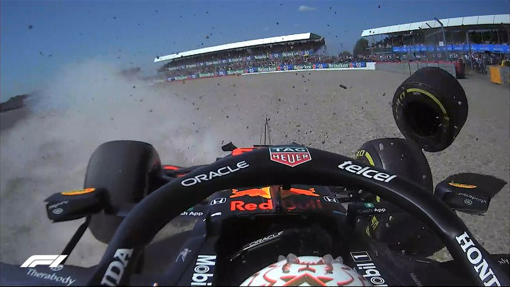F1: Accidente Verstappen GP
