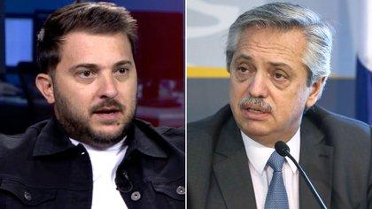 """El mensaje de Diego Brancatelli a Alberto Fernández: """"Usted pidió que marquemos cuando algo no está bien, esto así no va"""""""