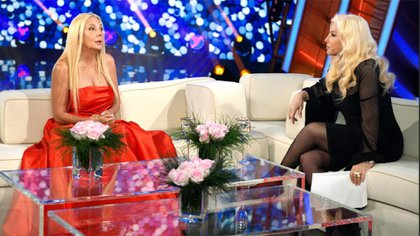 Mariana Nannis y Susana Giménez (Telefe)