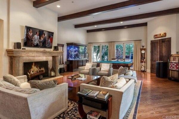 La casa del actor Charlie Sheen tiene 7 dormitorios y 7 baños. Foto: trulia.com