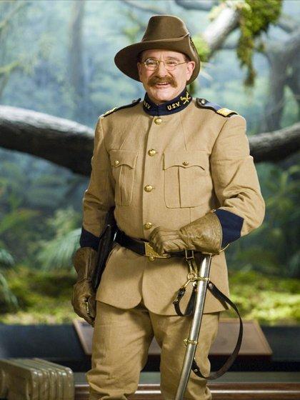 """Robin Williams en """"Una noche en el museo"""""""