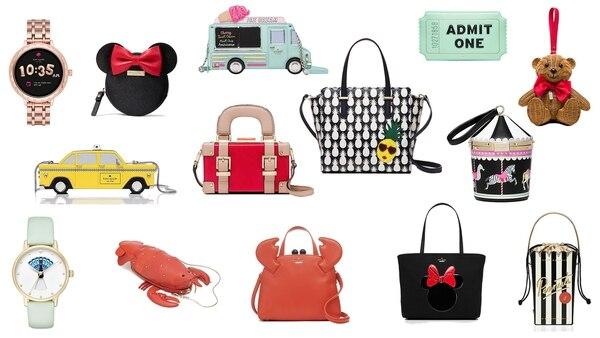 Los diseños de Kate Spade New York, la marca fundadora de la diseñadora fallecida en la tarde de ayer