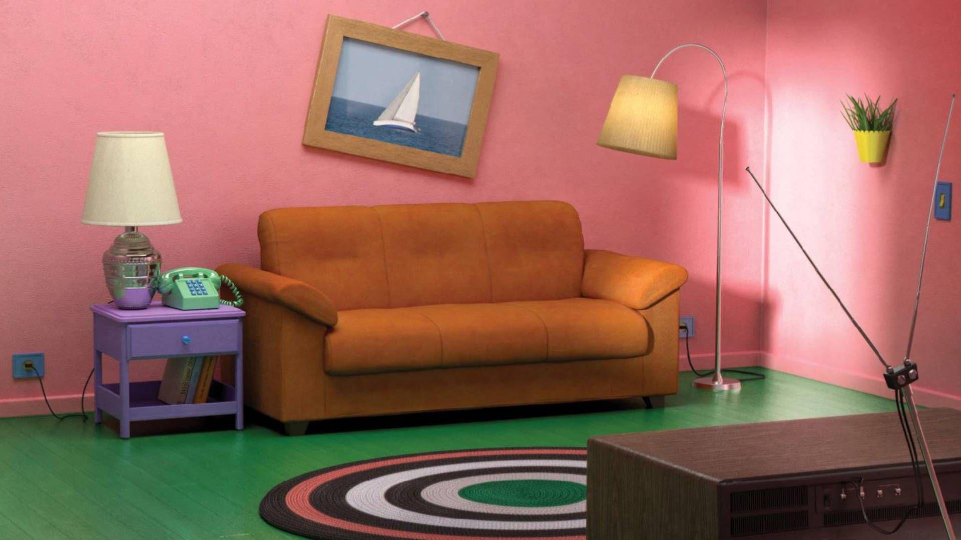 La sala de Los Simpson podría replicarse en tu hogar (Foto: Ikea)