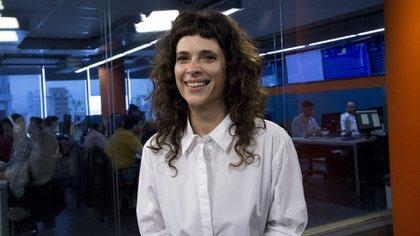 Zuleika Esnal, en los estudios de Infobae