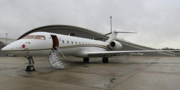 El avión de Tyrolean Jet Services donde transportaron la droga desde Colombia hasta el Reino Unido (Scotland Yard)