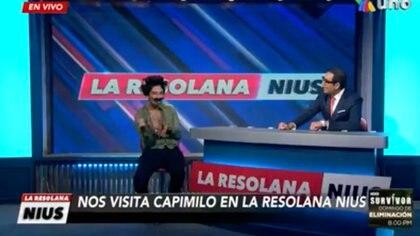 capi se burló de Camilo (Foto: Captura de pantalla/Azteca Uno)